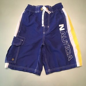 Nautica Lined Swim Trunks